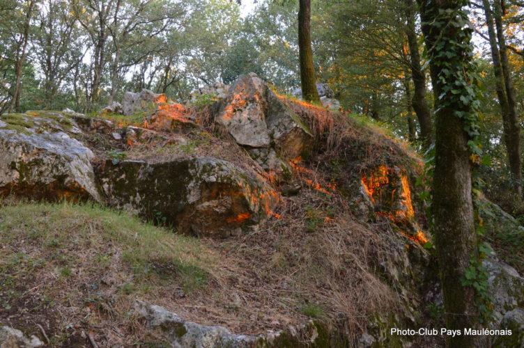 Pyrôme en feu